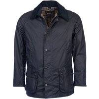 Barbour Mens Ashby Wax Jacket Navy Small