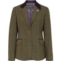 Alan Paine Womens Combrook Tweed Blazer Heather 12