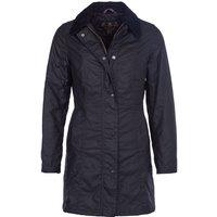 Barbour Womens Belsay Wax Jacket Black 16