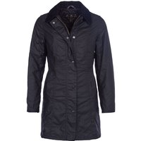 Barbour Womens Belsay Wax Jacket Black 12