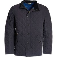 Barbour Mens Shoveler Quilted Jacket Navy Small