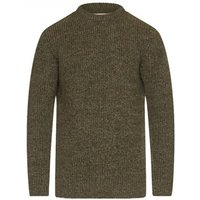 Barbour New Tyne Crew Neck Sweater Derby Tweed Small