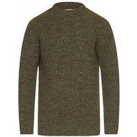 Barbour New Tyne Crew Neck Sweater Derby Tweed XL