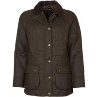 Barbour Womens Wardley Wax Jacket Olive/Classic 18