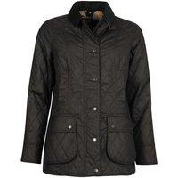 Barbour Womens Wardley Wax Jacket Navy/Dress 14