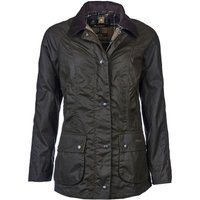 Barbour Womens Classic Beadnell Wax Jacket Olive 12