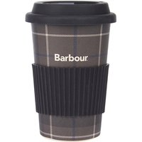 Barbour Tartan Travel Mug Monochrome One