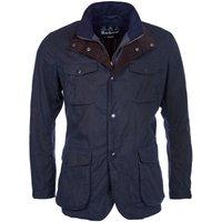 Barbour Mens Ogston Wax Jacket Navy XXL