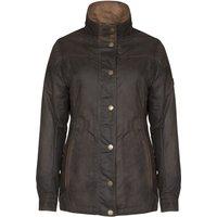 Dubarry Womens Mountrath Wax Jacket Olive 14