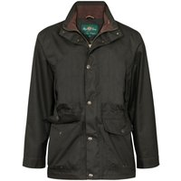 Alan Paine Mens Fernley Field Coat Woodland Small
