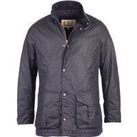 Barbour Mens Hereford Wax Jacket Navy XXL