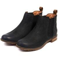 Barbour Womens Abigail Boots Black 5 (EU38)