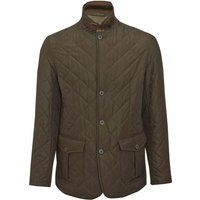 Barbour Mens Quilted Lutz Jacket Olive XL