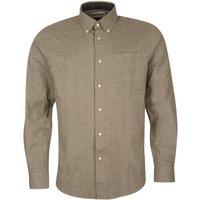 Barbour Mens Priestcliffe Tailored Shirt Olive Medium