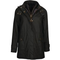 Barbour Womens Cannich Wax Jacket Black/Modern 10