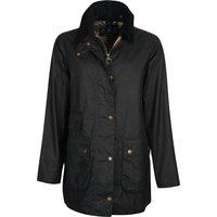 Barbour Womens Tain Wax Jacket Navy/Dress 10