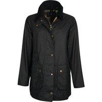 Barbour Womens Tain Wax Jacket Navy/Dress 12