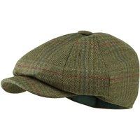 Schoffel Mens Newsboy Cap Buckingham Tweed 56cm (6 7/8)