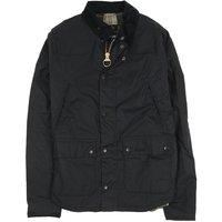 Barbour Mens Reelin Wax Jacket Navy XXL