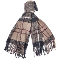 Barbour Tartan Boucle Scarf Winter Dress