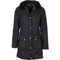 Barbour Womens Bower Wax Jacket Navy 8