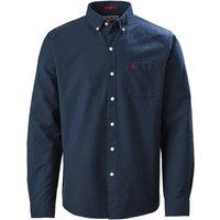 Musto Mens Aiden Long Sleeve Oxford Shirt True Navy XL