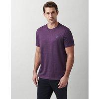 Crew Clothing Mens Classic Tee Purple Marl Small
