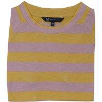 Crew Clothing Womens Simple Slub Tee Sunray / Powder Puff 12