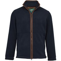 Alan Paine Aylsham Mens Fleece Jacket Dark Navy Small