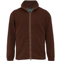 Alan Paine Aylsham Mens Fleece Jacket Russet 4XL