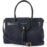 Fairfax and Favor Womens Windsor Handbag Navy