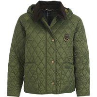 Barbour Womens Tobymory Quilted Jacket Olive/Classic 18