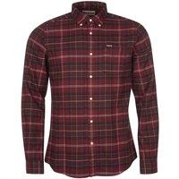 Barbour Mens Kyeloch Tailored Shirt Winter Red Tartan XL