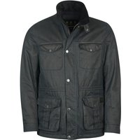 Barbour Mens Field Wax Jacket Navy Small