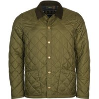 Barbour Mens Herron Quilted Jacket Green/Classic Medium