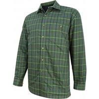 Hoggs Of Fife Mens Fleece Lined Shirt Beech Large