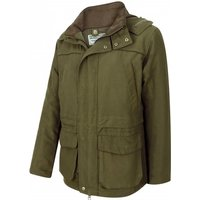 Hoggs Of Fife Mens Kincraig Field Jacket Olive Green Small