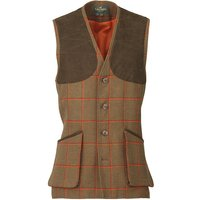 Laksen Mens Leith Shooting Vest Clyde Tweed Large