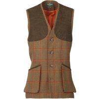 Laksen Mens Leith Shooting Vest Clyde Tweed Medium