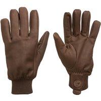 Laksen Unisex Milano Gloves Brown 8