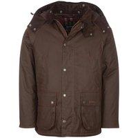 Barbour Mens Winter Bedale Wax Jacket Rustic/Winter Red XXL