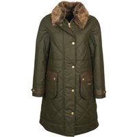 Barbour Womens Golspie Wax Jacket Archive Olive/Classic 10