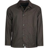 Barbour Mens Rigg Wax Jacket Charcoal Large