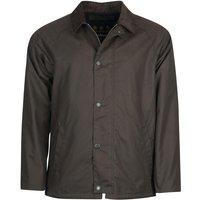 Barbour Mens Rigg Wax Jacket Charcoal XL