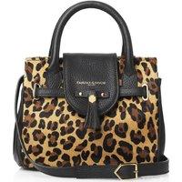 Fairfax and Favor Womens Mini Windsor Handbag Jaguar Hair Calf