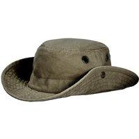 Tilley Unisex T3 Wanderer Medium Snap-up Brim Hat Vintage Olive 62cm (7 3/4)