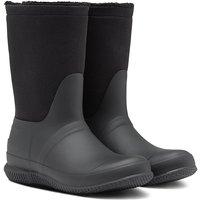 Hunter Womens Original Roll Top Sherpa Boots Black 4 (EU37)