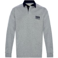 R. M. Williams Mens Classic RMW Rugby Grey/Navy Large
