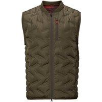 Harkila Mens Driven Hunt Insulated Waistcoat Willow Green XL