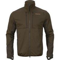 Harkila Mens Mountain Hunter Pro WSP Fleece Hunting Green/Shadow Brown Medium